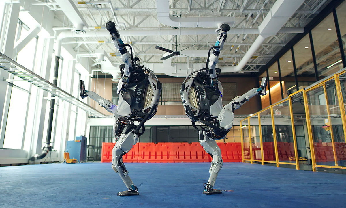 A recent video posted by Boston Dynamics exhibits four of their robots grooving.