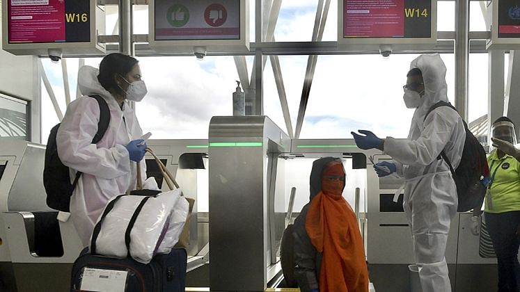 Flights between India and the UK resume amid new COVID strain