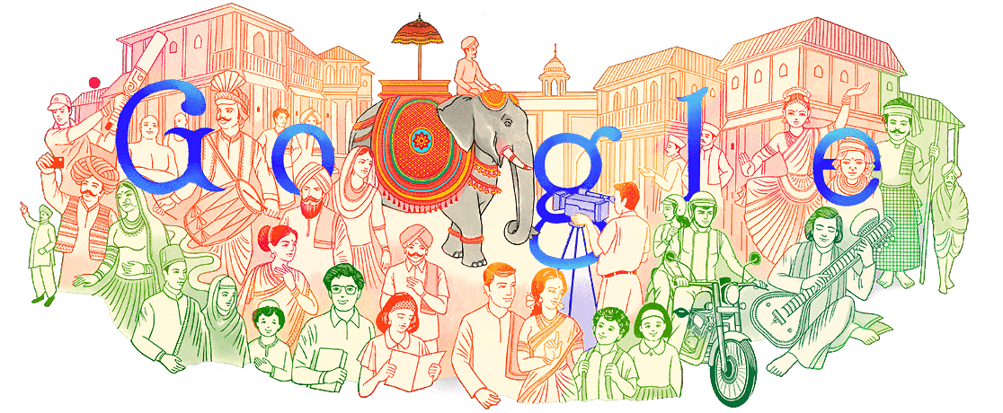 Artist Onkar Fondekar hopes that the internet users take away the idea of 'Unity' from the doodle.