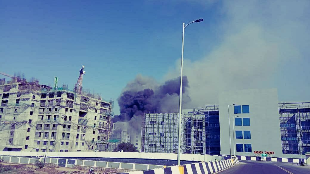 Serum Institute suffered a loss of over Rs 1000 crore due to the fire: CEO Adar Poonawalla, CM Uddhav Thackeray visits SII campus