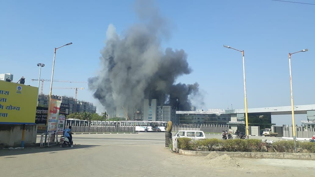 Fire incident at Serum plant took place at 1.30 pm on Thursday
