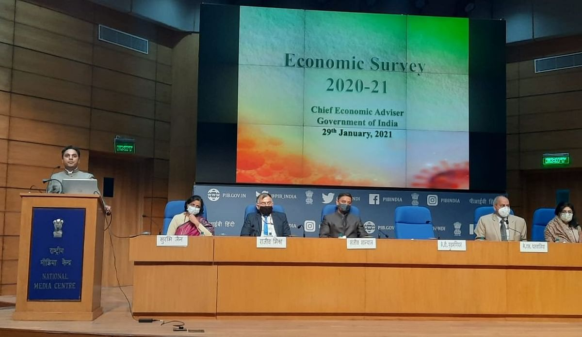 Budget 2021: India's FY21 GDP to contract 7.7%, says Economic Survey