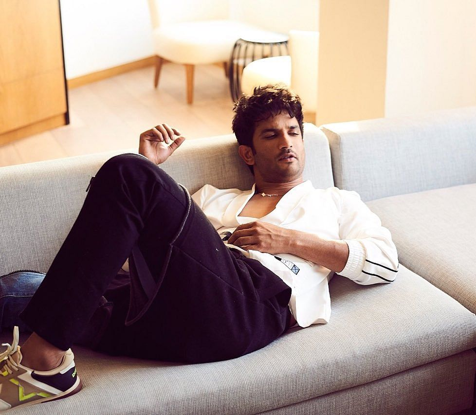 The late actor, Sushant Singh Rajput, posted this picture on his Instagram account in May, 2020