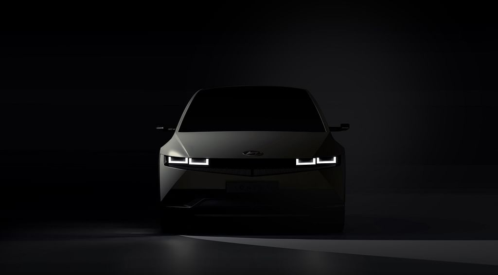 Hyundai teases its electric car IONIQ 5, arrives in February