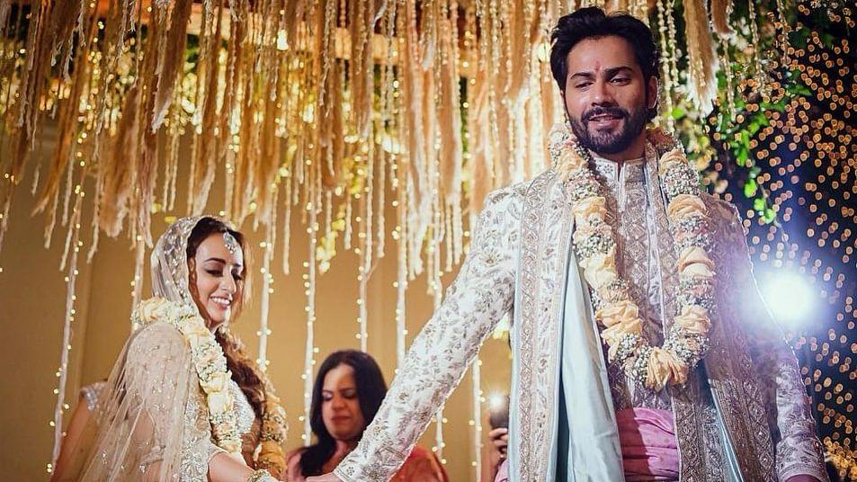 Varun Dhawan and Natasha Dalal get hitched!