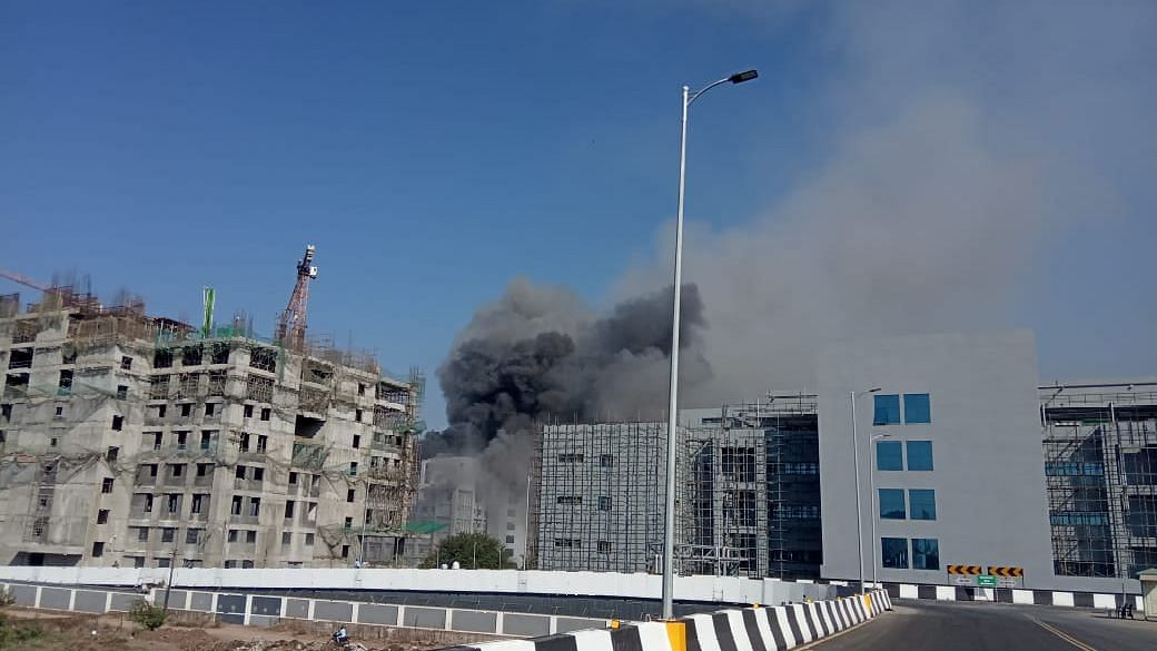 The fire broke out at Serum Institute of India in Pune on Thursday