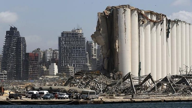Months after blast, Beirut's Port still has 52 containers of dangerous acids