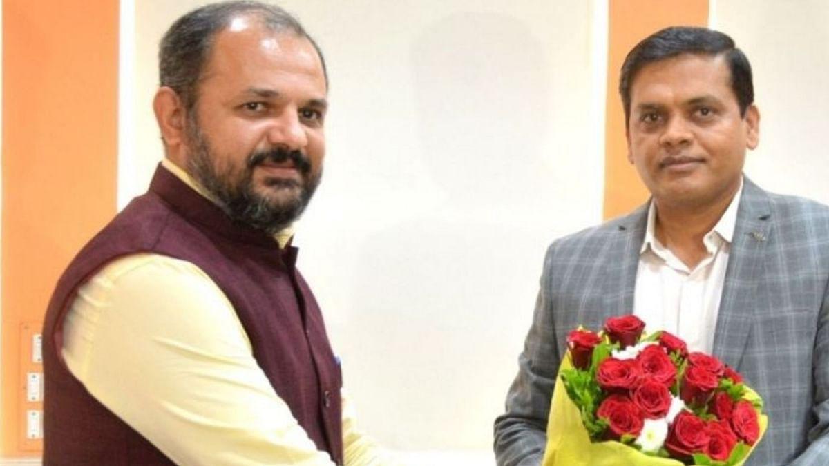 Rajesh Patil, the new commissioner of Pimpri Chinchwad Municipal Corporation