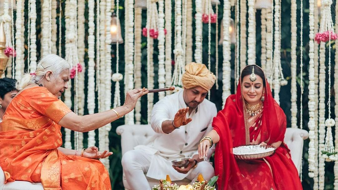 'Miracle of love': Check out Dia Mirza's latest wedding pictures