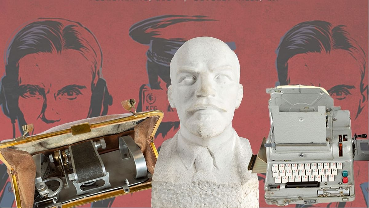 Cool Cold War spy gadgets up for auction