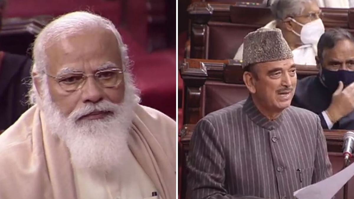 Watch video: PM Narendra Modi gets emotional in farewell speech for Ghulam Nabi Azad