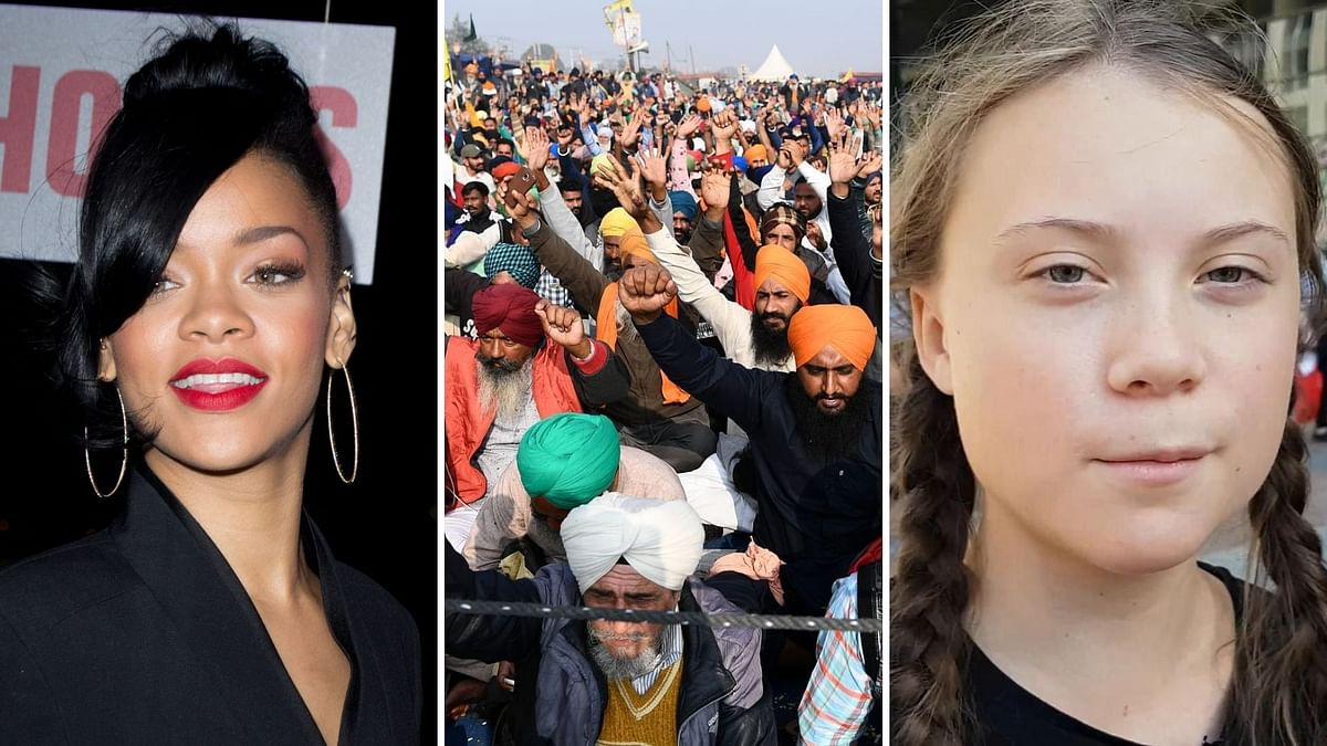 Farmers' protest goes global: Rihanna, Greta Thunberg lends support to farmers