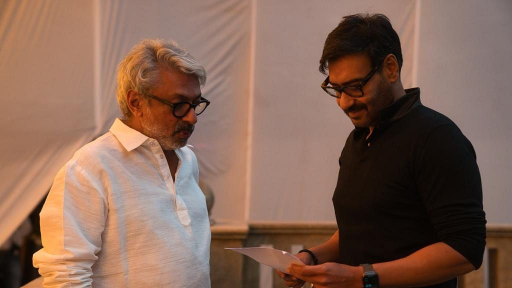 Ajay Devgn starts shooting for Bhansali's 'Gangubai Kathiawadi'; reunite after 22 years