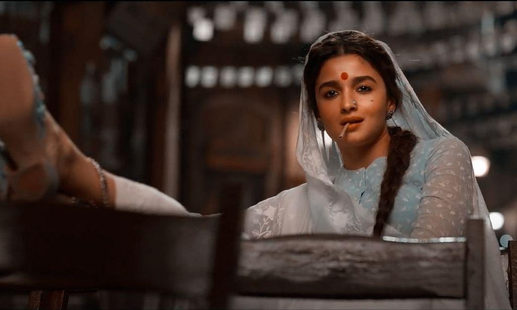 Screengrab from Gangubai Kathiawadi teaser featuring actor Alia Bhatt.