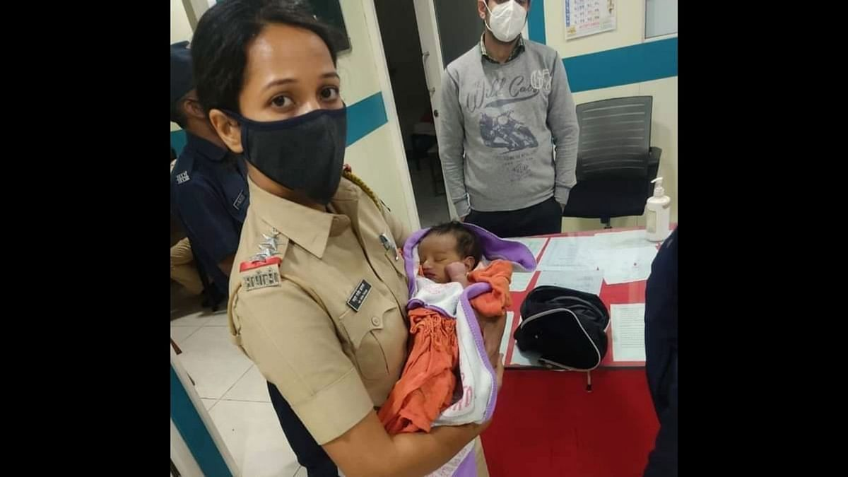 Grand salute: Policewoman from Pune rescues newborn abandoned in garbage dump