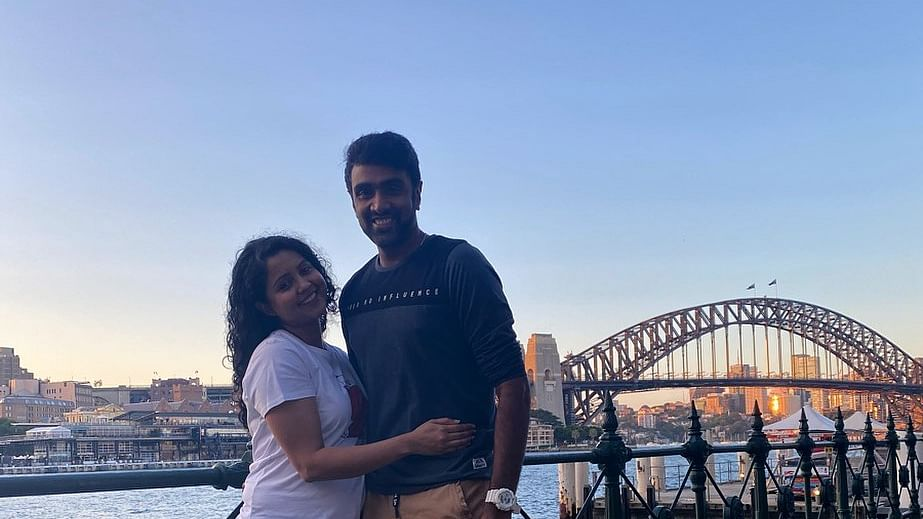 Here's how Ravichandran Ashwin's wife reacted to his fifth century