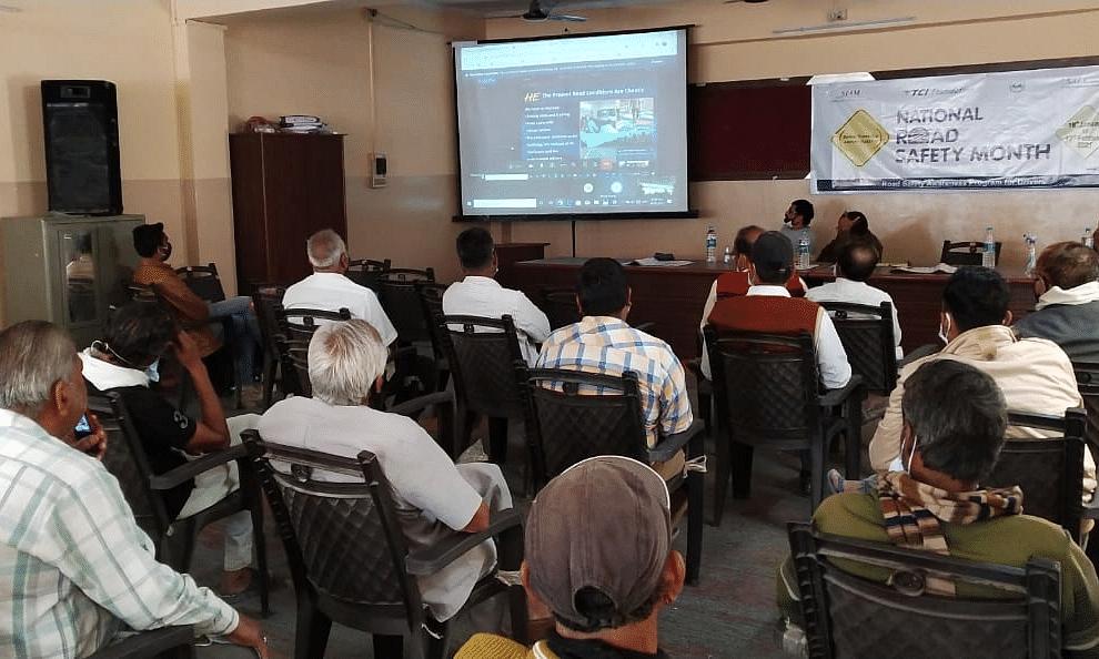 A workshop organised by SIAM.