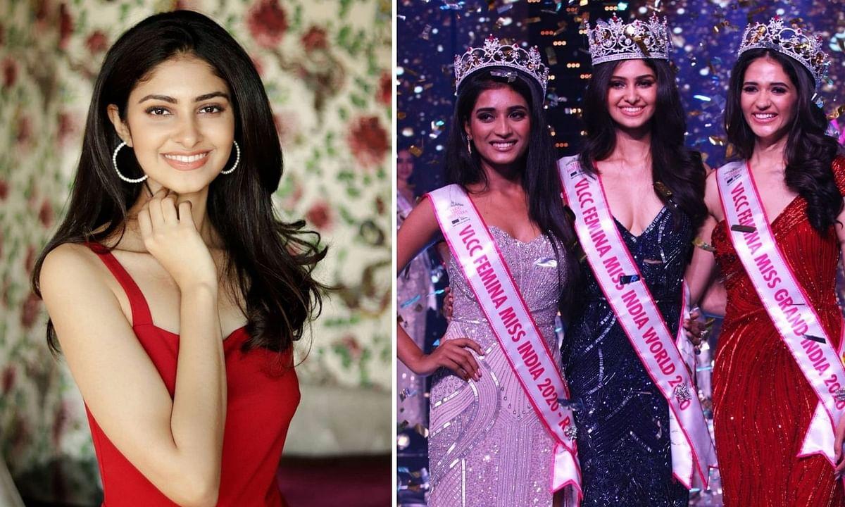 Manasa Varanasi won the Miss India title on Thursday