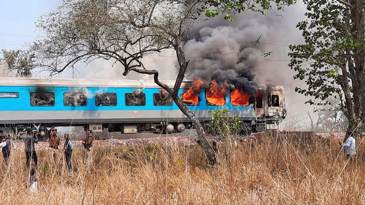 Railways mulls severe penalty for smoking in trains after Shatabdi fire