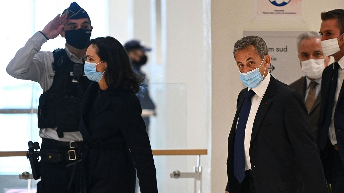 Ex-French President Nicolas Sarkozy convicted of corruption, handed one-year jail term
