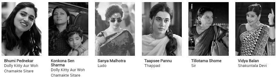 Filmfare Awards 2021 nominations: Best Actress (Critics)