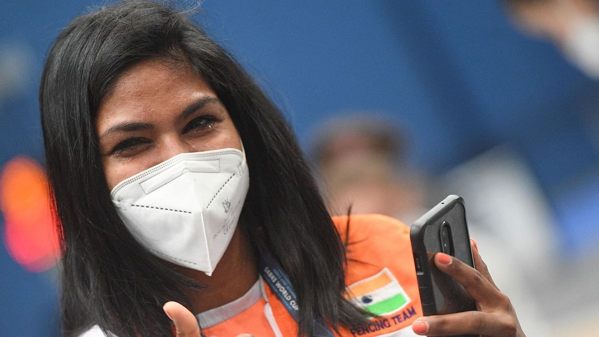 Bhavani Devi, the first Indian fencer to qualify for Olympics