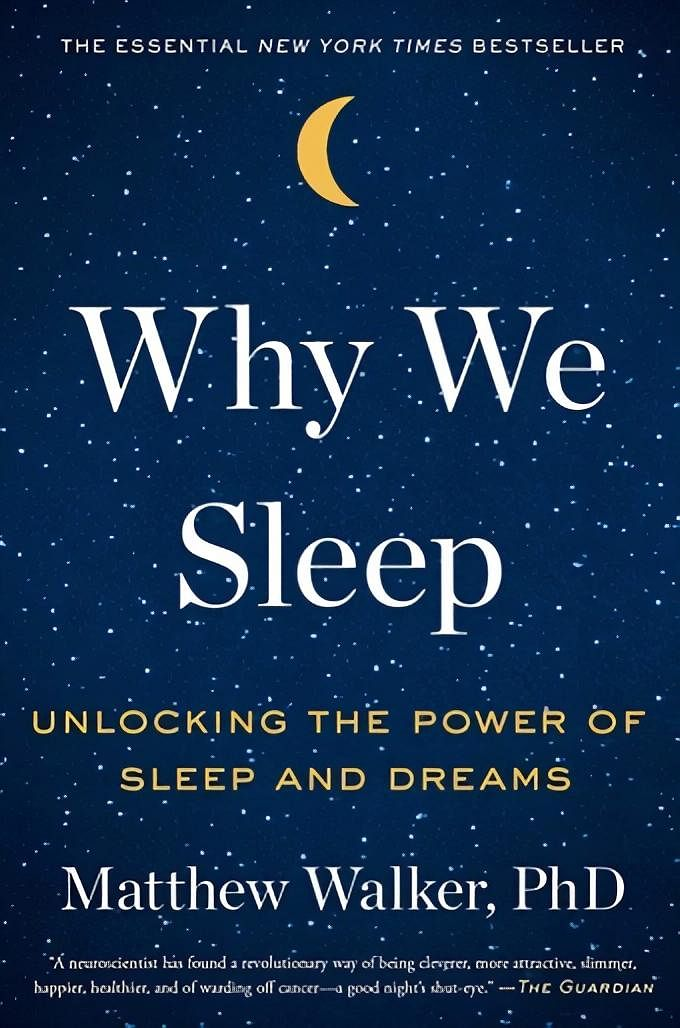 Book Cover: Why We Sleep by Matthew Walker