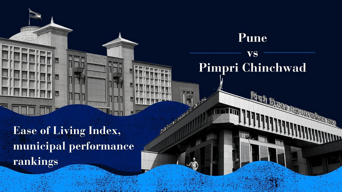 Pune vs Pimpri Chinchwad: Ease of Living Index, municipal performance rankings