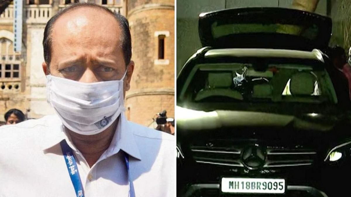 Antilia bomb scare probe: NIA seizes car used by Sachin Vaze; recovers Rs five lakh