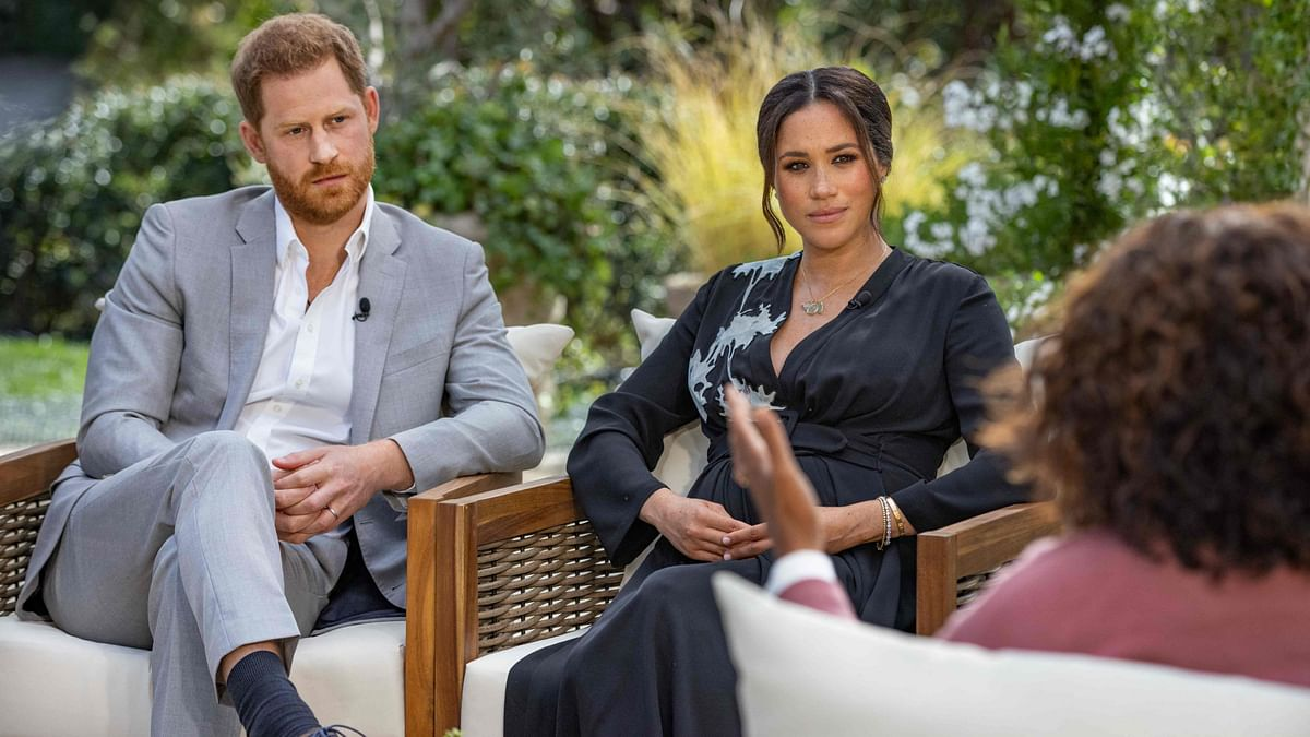 Meghan Markle in an interview