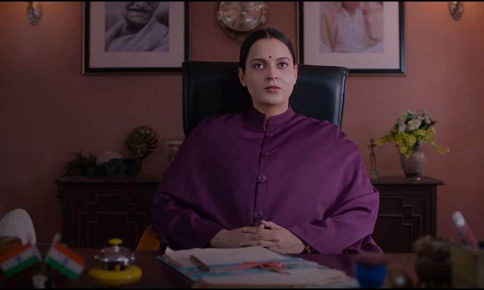 A screengrab from the trailer of 'Thalaivi' featuring Kangana Ranaut as former Chief Minister of Tamil Nadu J Jayalalithaa