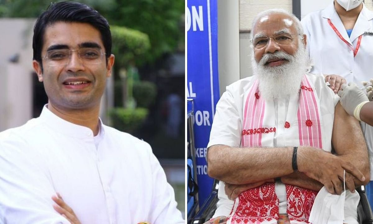 (L)Congress' National Spokesperson, Jaiveer Shergill took a jab on PM Narendra Modi