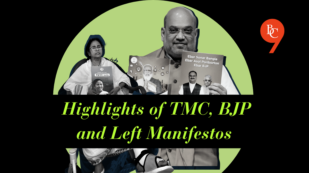 WB Elections 2021 | Highlights of TMC BJP and Left front manifestos