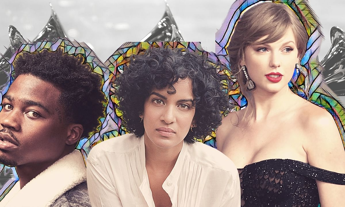 This year, Roddy Ricch, Anoushka Shankar and Taylor Swift (L-R) have bagged nominations in Grammy's 2021