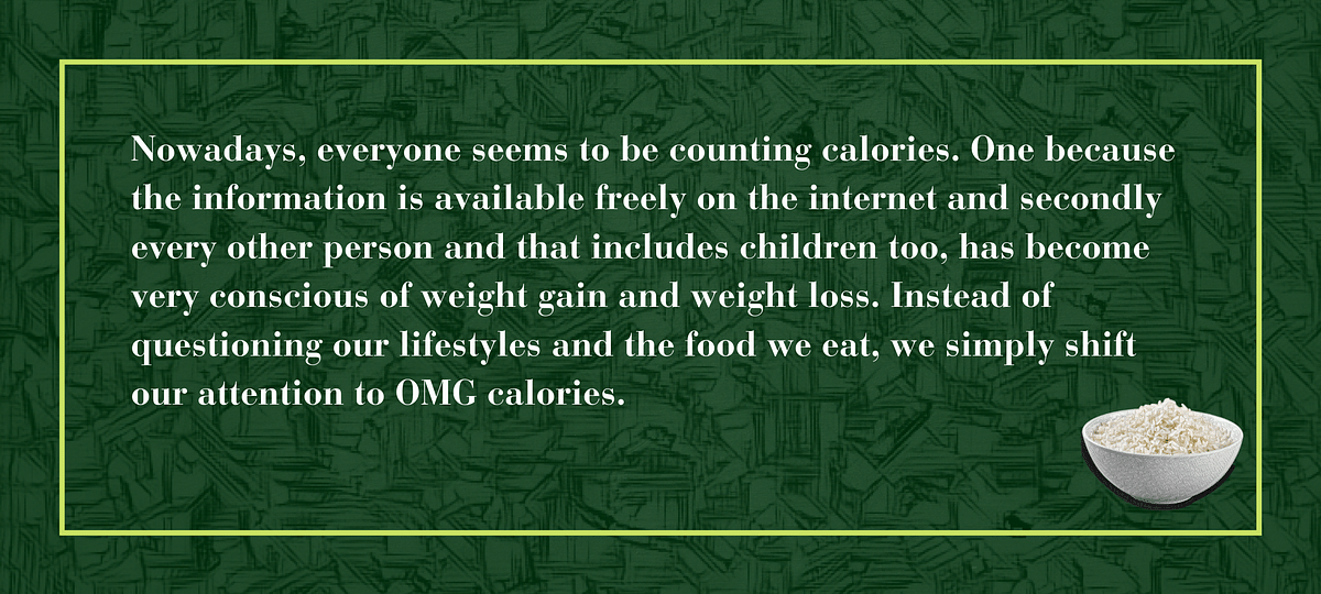 TBC finds out why rice, traditional food is considered to be a weight gainer