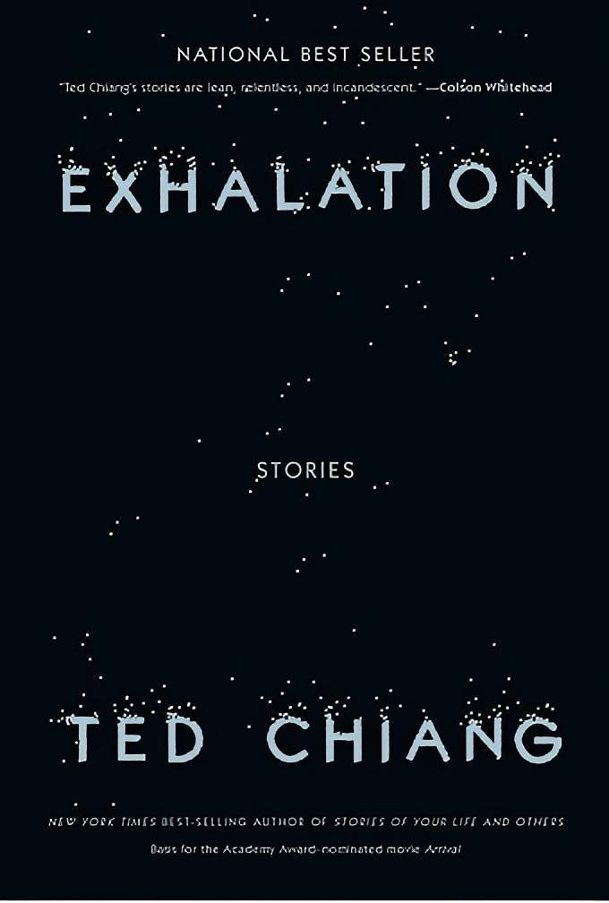 Book Cover: Exhalation by Ted Chiang