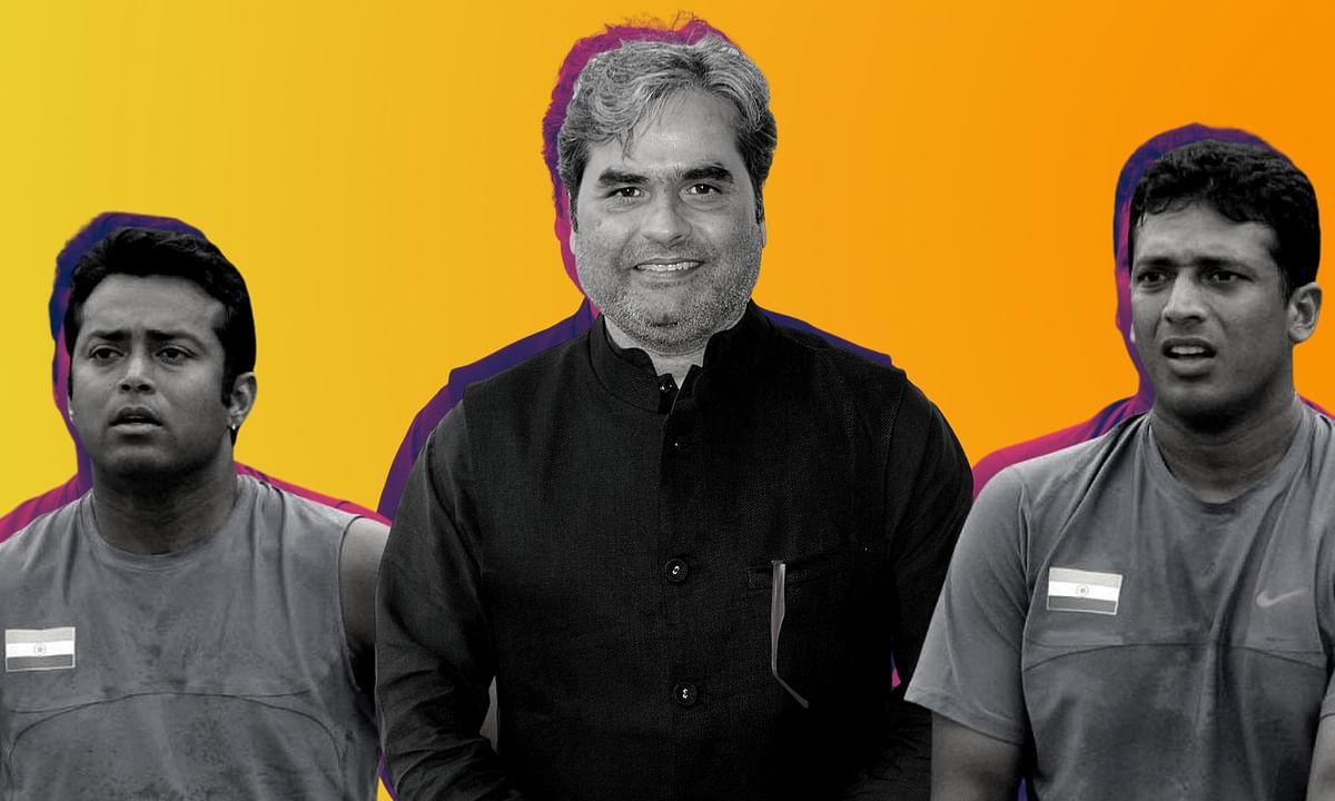 (Representational image) Leander Paes, Vishal Bhardwaj and Mahesh Bhupati (L-R)