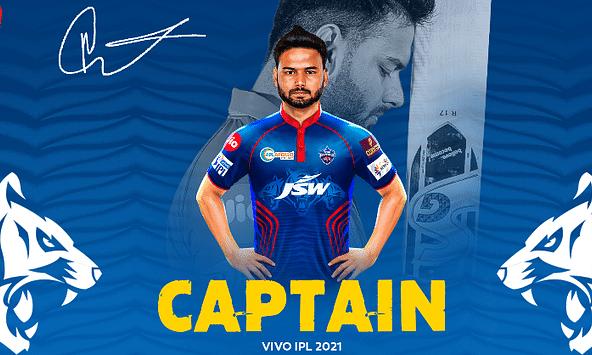 Rishabh Pant was announced as the captain of Delhi Capitals for IPL 2021