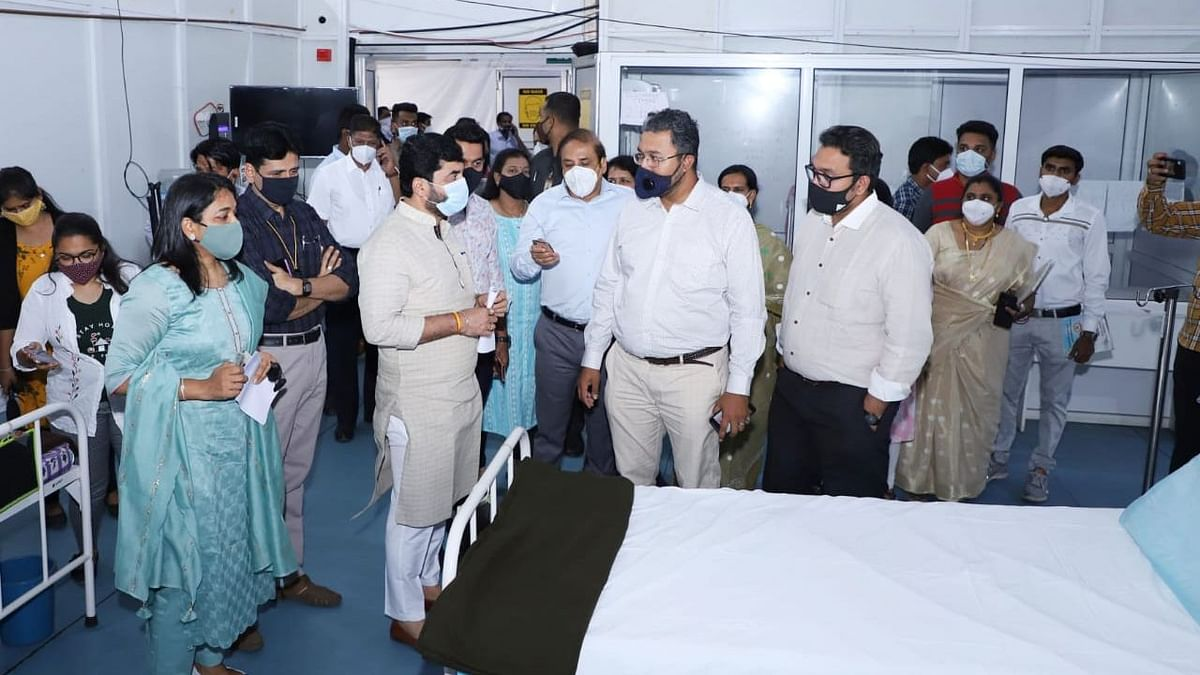 Pune's Jumbo COVID hospital reopens amid surge in new cases