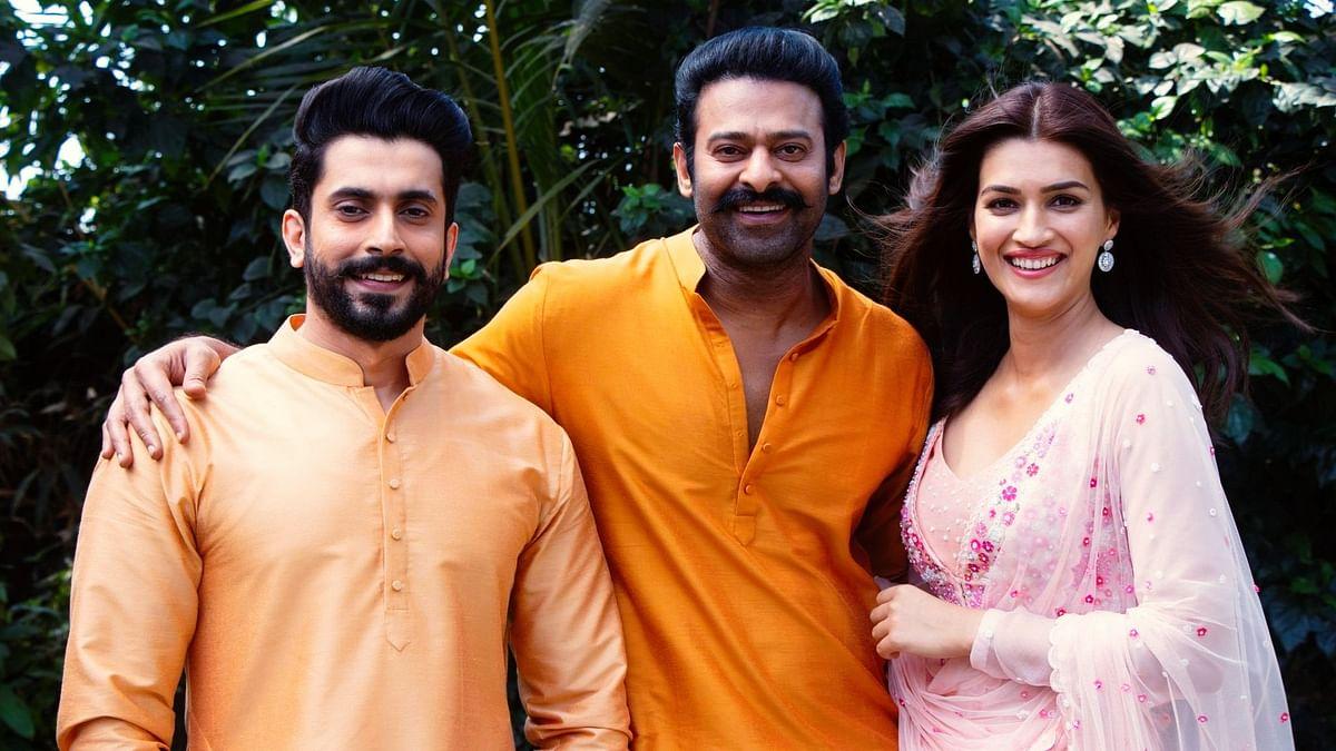 Prabhas welcomes Kriti Sanon, Sunny Singh on multi-starrer 'Adipurush'