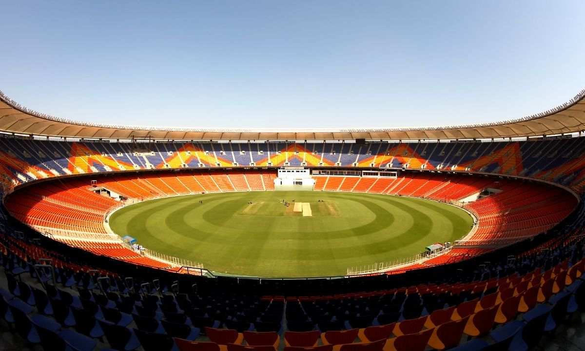 Narendra Modi Stadium in Ahmedabad, Gujarat
