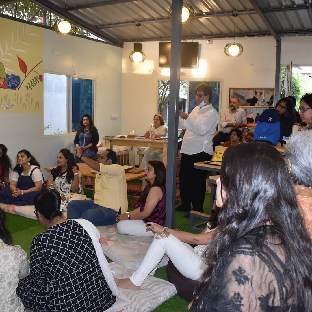 Bookoholics event on 6th March 2021