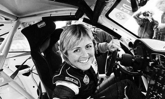 Queen of Nurburgring, Sabine Schmitz clicked during her endurance car race  (File pic)