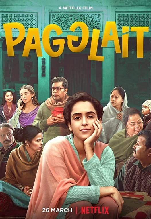 Movie poster of 'Pagglait'