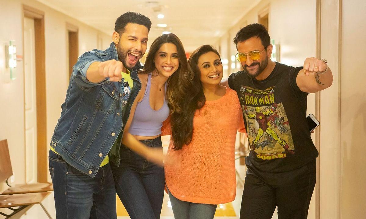 Actors Siddhant Chaturvedi, Sharvari Wagh, Rani Mukherji and Saif Ali Khan are a part of 'Bunty Aur Babli 2'