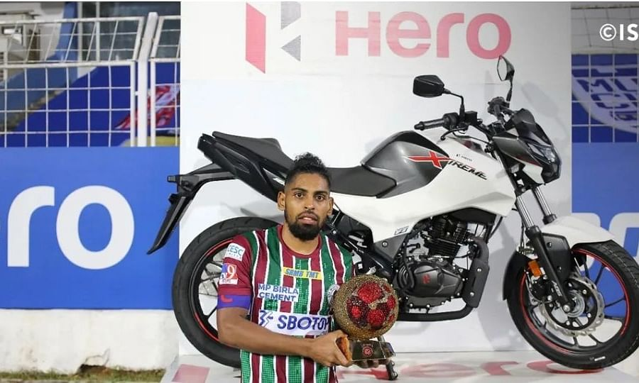 Roy Krishna from ATK Mohun Bagan was awarded as Hero of the League in this year's ISL