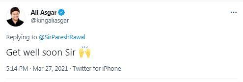 Replied to Paresh Rawal's tweet