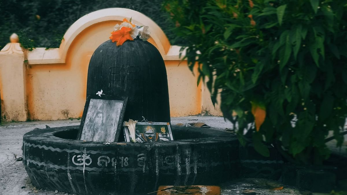 Bathing of the Shivalingam with water is a ritual practiced on Mahashivratri.
