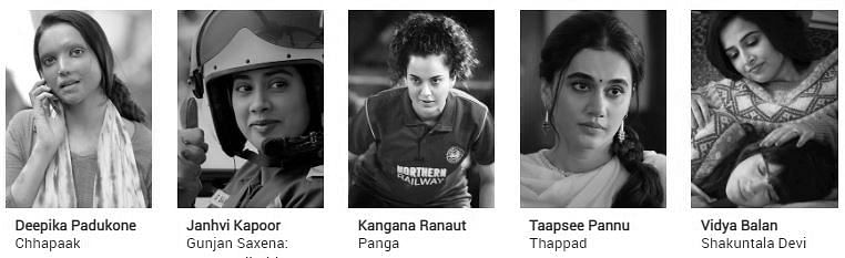 Filmfare Awards 2021 nominations: Best Actor In A Leading Role (Female)