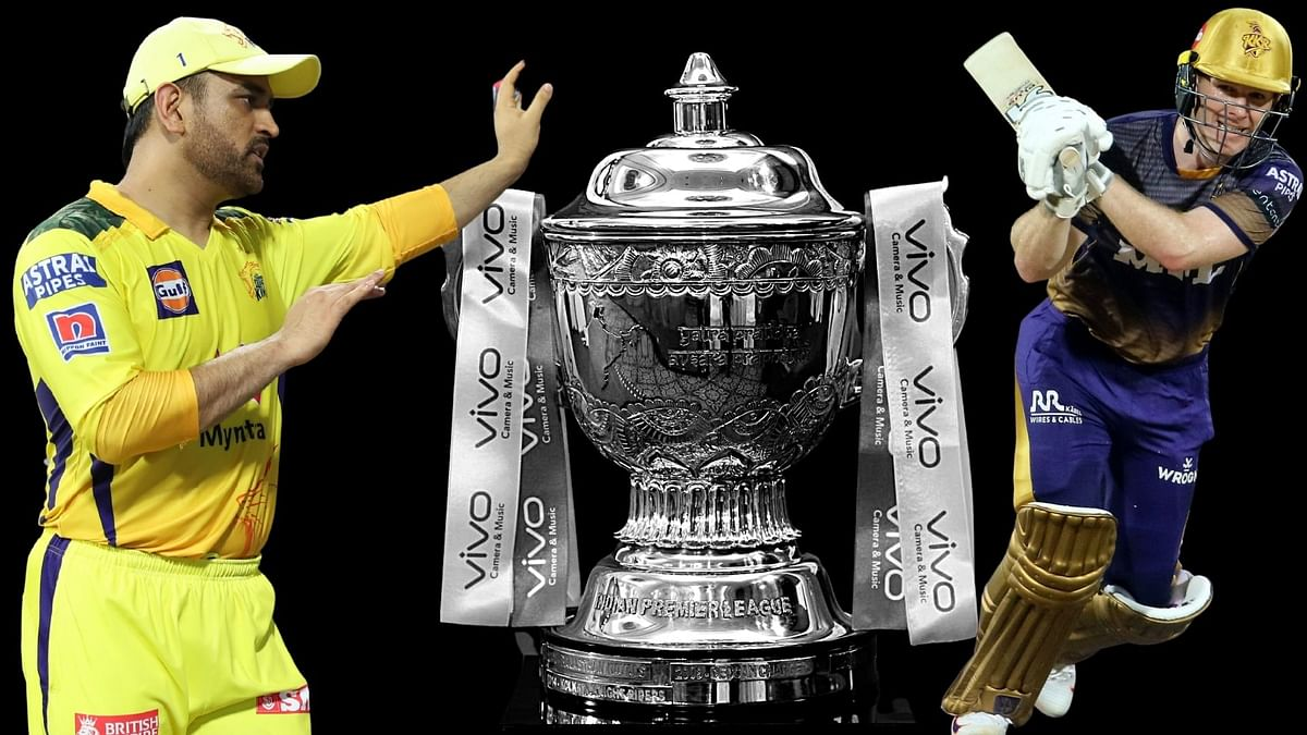 IPL 2021: MS Dhoni faces Eoin Morgan's challenge